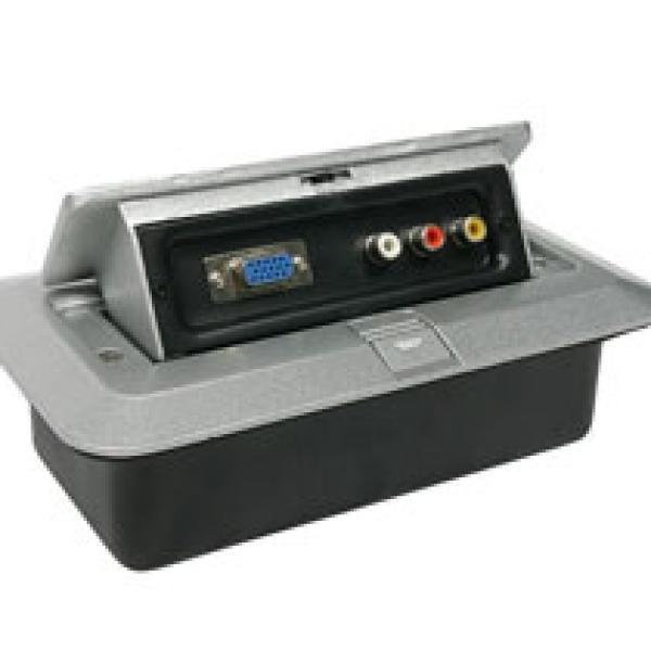JACOBS SAUND AJ-311 Box for AUDIO VIDEO VGA AND 3RCA علبة توصيل صوت وصورة في جي اي و 3ار سي اي مناسبة الجامعات والكليات والمعاهد والمدارس