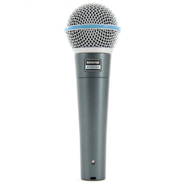 SHURE-BETA-58A Dynamic Vocal Mic لاقط صوت من شور بيتا تقنية أمريكية مناسب للصوت البشري نقاوة عالية