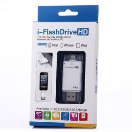 iFlashDrive HD USB 64GB  اي فلاش بحجم 64جيجا مناسب لجوالات الأيفون