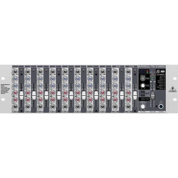 Behringer RX1202FX Premium 12-Input Mic/Line Rack Mixer مكسر صوت بهرنجر تقنية المانية مع 12مدخل للصوت وصدى مميز مناسب لتركيب على راك للمسجد والمدرسة والأستديو والحفلات