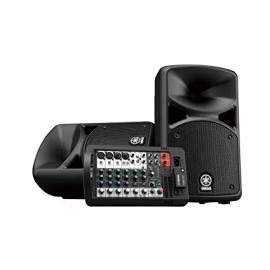 Yamaha StagePas 400BT Portable PA with Bluetooth  طقم سماعة متنقلة من ياماها بقوة 400وات مقاس 8انش  مع بلوتوث مناسبة للمدارس و الحفلات والمناسبات البسيطة جودة عالية ضمان سنتين
