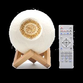 EQUANTU SQ-168 MON LAMP QURAAN SPEAKER  سماعة ايكوانتو القمر المضيئ مع القران كاملاً مناسبة للغرف والمكتب سوف تكون هدية قيمة لمن تحب
