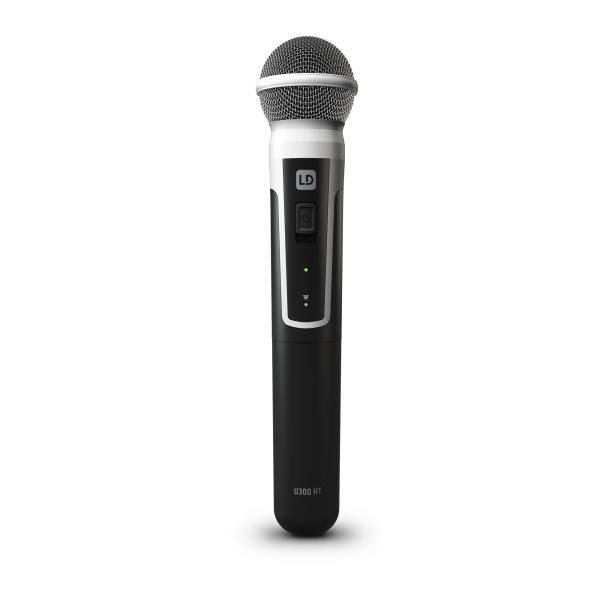 LD-SYSTEMS LD u306 Wireless Microphone System لاقط 1لاسلكي يدوي من أل دي تقنية المانية مدى يصل 100متر بـ12قناة مناسب للحفلات والمدارس وغيرها جودة عالية