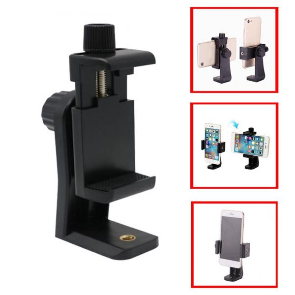Tripod Mount Bracket Adapter for Smartphone محول حامل جوال للأجهزة الذكية مناسب لتركيبة على حامل الكاميرة أو غيرة بنفس القياس العالمي لمسمار التثبيت